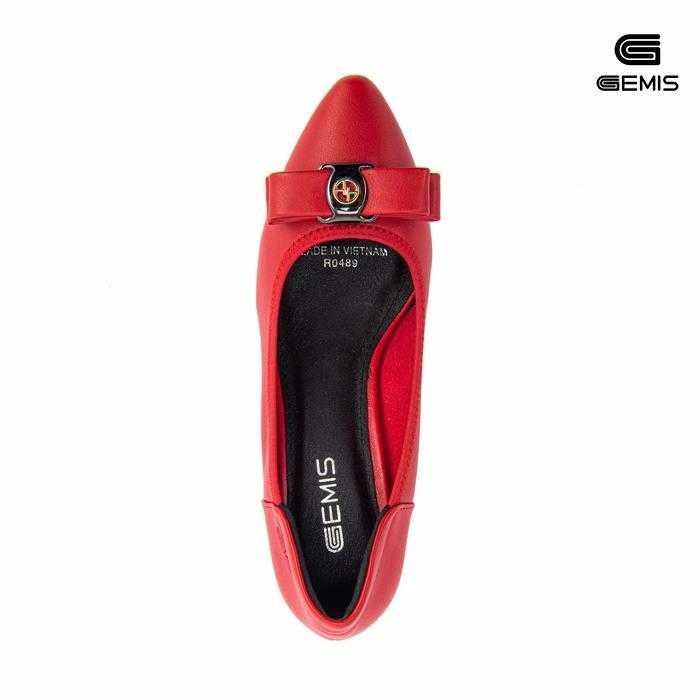 Giày Cao Gót Nơ 5cm GEMIS-GM0029 Xưởng Giày 08