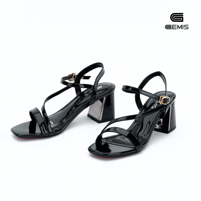 Sandal Mũi Vuông 5cm gemis -GM00093 Xưởng Giày 04