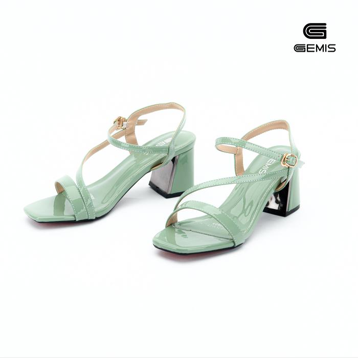 Sandal Mũi Vuông 5cm gemis -GM00094 Xưởng Giày 02