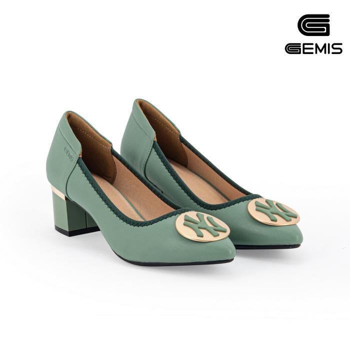 Giày Cao Gót 5cm Khoá Tròn GEMIS - GM00084 Xưởng Giày 08
