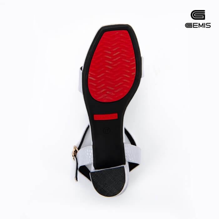 Sandal Cao Gót Xi Rắn 5CM Gemis - GM00022 Xưởng Giày 04