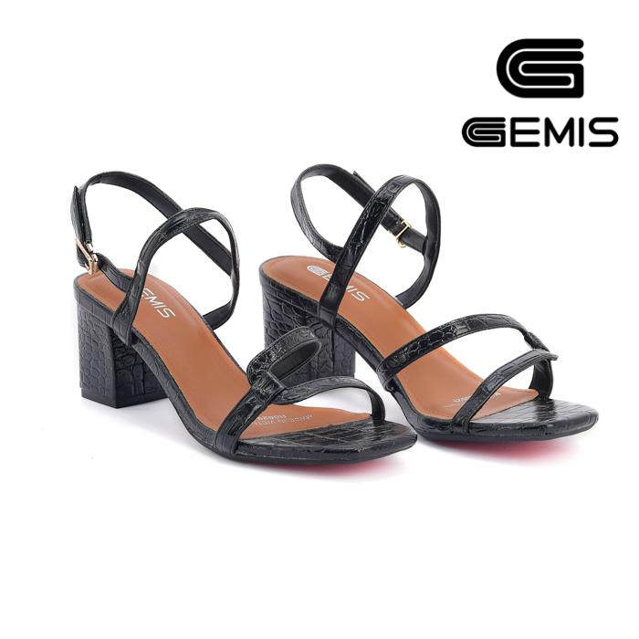 Sandal Cao Gót Vân Rắn 5CM Gemis – GM00035 (Sao chép) Xưởng Giày 02