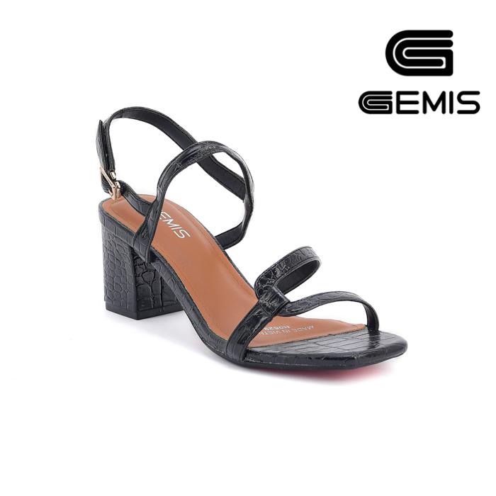 Sandal Cao Gót Vân Rắn 5CM Gemis – GM00035 Xưởng Giày 02