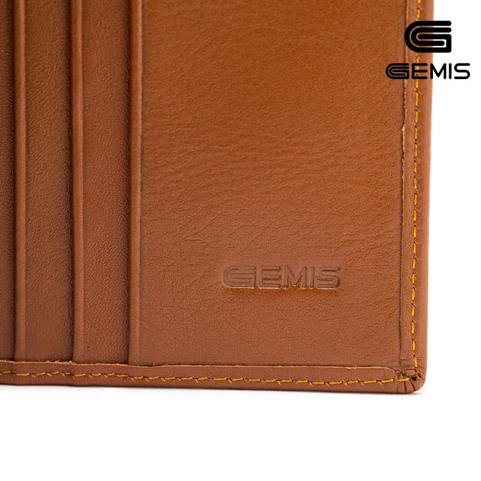 Ví Đứng Da Bò Phối Gemis - GM00041 Xưởng Giày 02