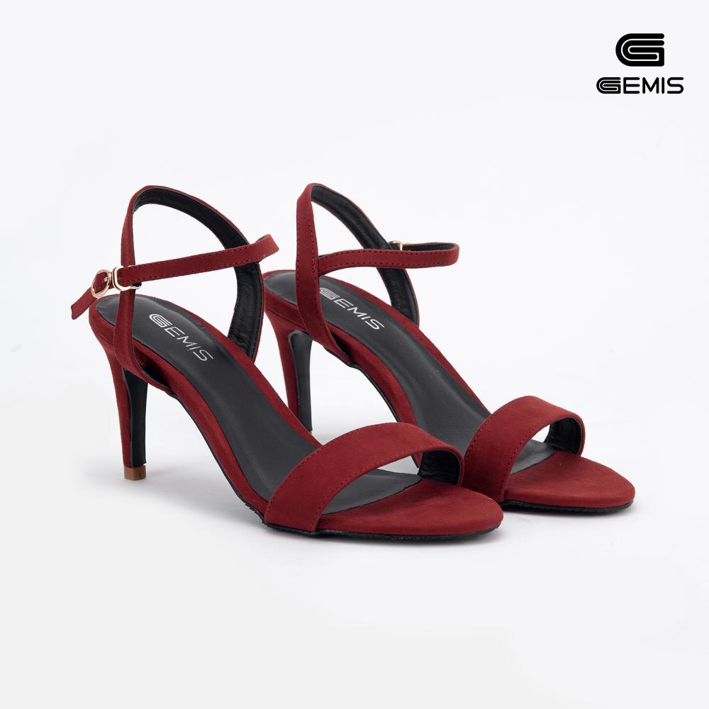 Sandal Cao Gót 7cm Da Lộn Gemis - GM00056 Xưởng Giày 04