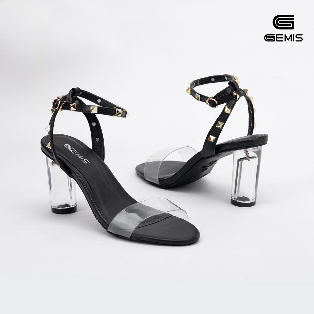 Sandal Gót Trong7cm Nạm Đinh Gemis Xưởng Giày 08