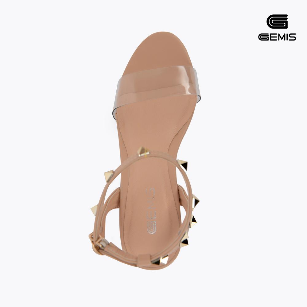 Sandal Gót Trong7cm Nạm Đinh Gemis Xưởng Giày 02
