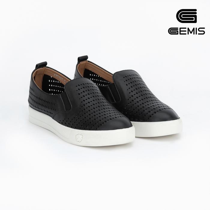 Giày Đế Cao Da Bò Laze Gemis - GM00039 Xưởng Giày 02