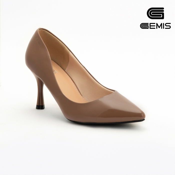 Giày Cao Gót Bóng 7cm Mũi Nhọn GEMIS - GM00065 Xưởng Giày 04