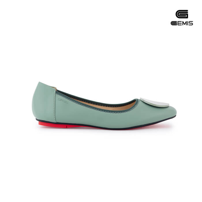 Giày Bệt Nơ Khoá GEMIS - GM00103 Xưởng Giày 02