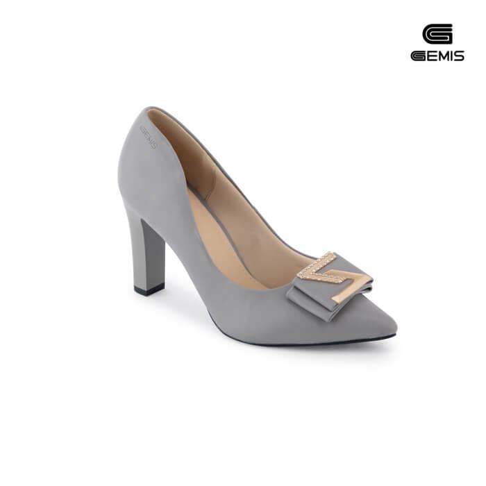 Giày Cao Gót 8cm Nơ Khoá - GM00101 Xưởng Giày 03