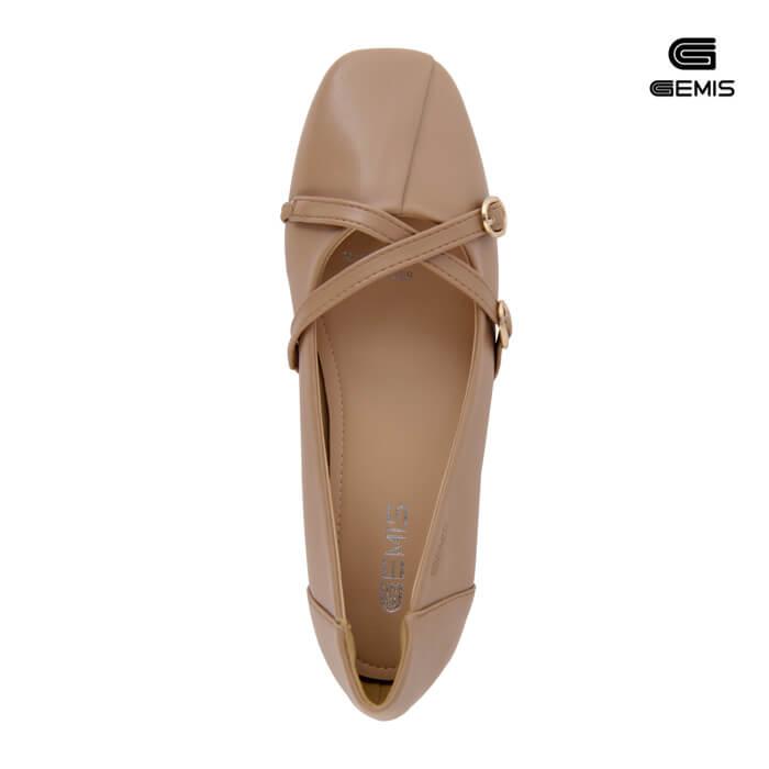 Giày Mũi Vuông Khoá Chéo - GM00105 Xưởng Giày 09
