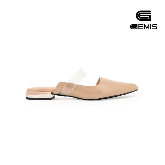 Giày hở hậu 2cm da bóng -GM00071 Xưởng Giày 07