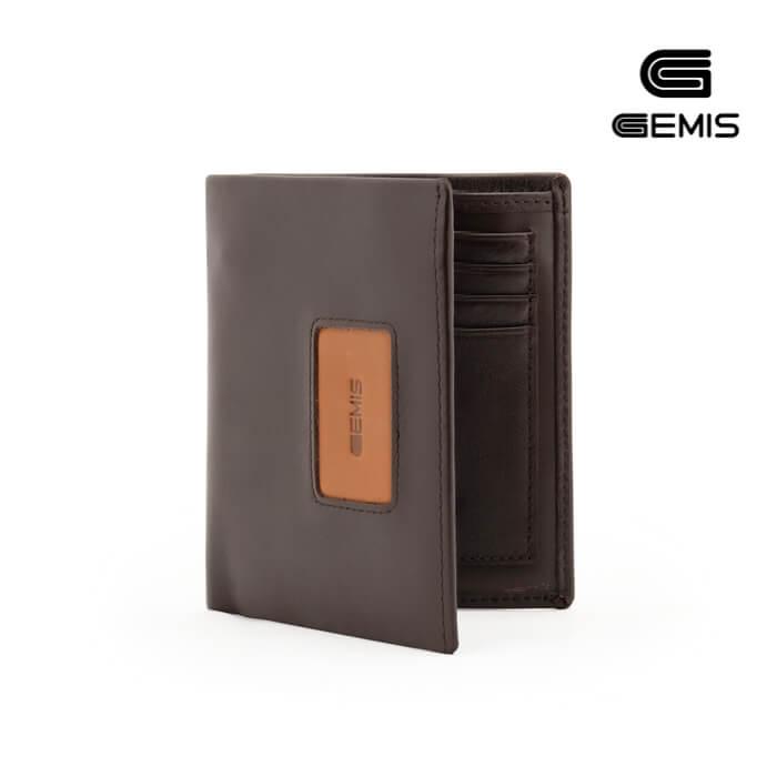 Ví đứng Da Bò GEMIS - GM00077 Xưởng Giày 09