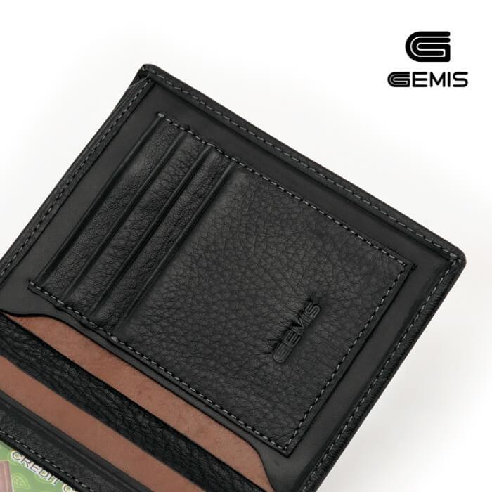 Ví đứng Da Bò GEMIS - GM00076 Xưởng Giày 06