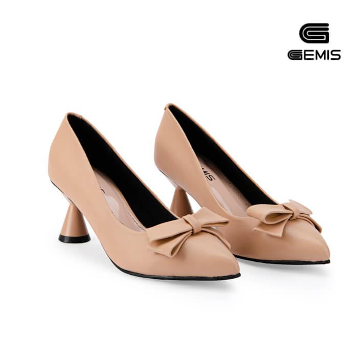 Giày Cao Gót Nơ 5cm GEMIS - GM00141 Xưởng Giày 05