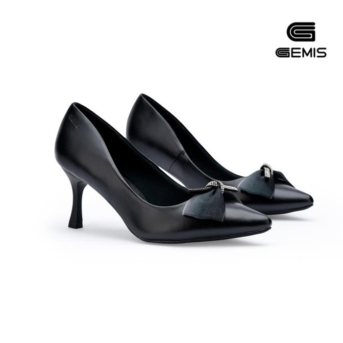 Giày Cao Gót Nơ Lụa 7cm Gemis - GM00155 Xưởng Giày 09