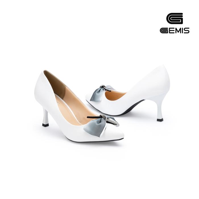 Giày Cao Gót Nơ Lụa 7cm Gemis - GM00155 Xưởng Giày 05