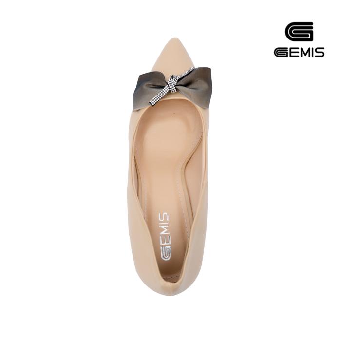 Giày Cao Gót Nơ Lụa 7cm Gemis - GM00155 Xưởng Giày 03