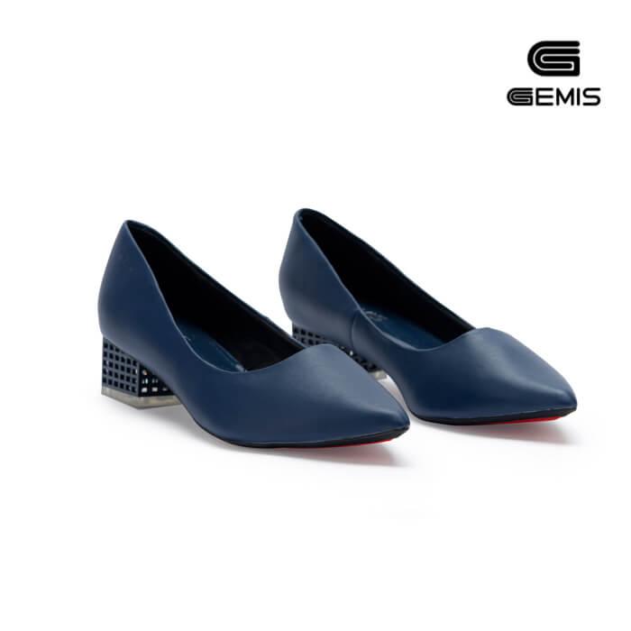 Giày Cao gót 3cm gót mica GEMIS - GM00157 Xưởng Giày 04