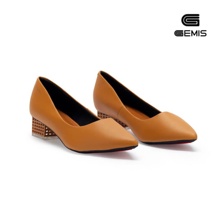 Giày Cao gót 3cm gót mica GEMIS - GM00157 Xưởng Giày 05