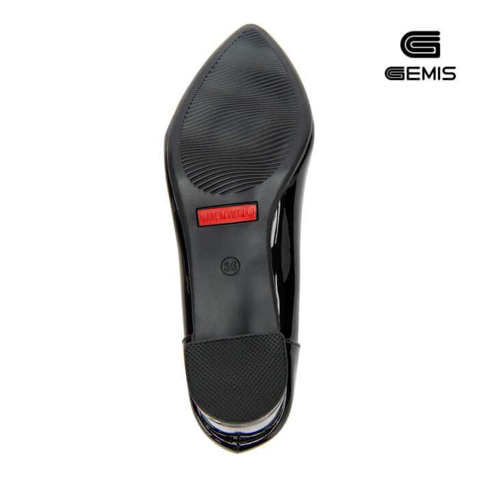 Giày Cao gót 7cm da bóng GEMIS - GM00158 Xưởng Giày 08
