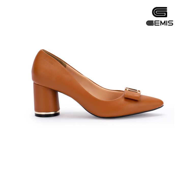 Giày Cao gót 7cm nơ khoá gemis - GM00159 Xưởng Giày 06