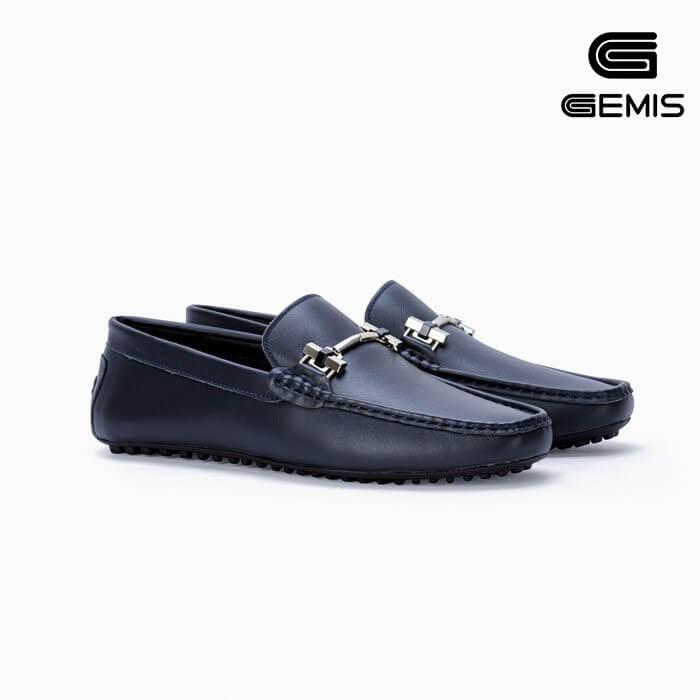 Giày mọi nam da bò GEMIS - GM00180 Xưởng Giày 04