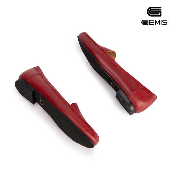 Giày mọi nữ da bò GEMIS - GM00173 Xưởng Giày 09