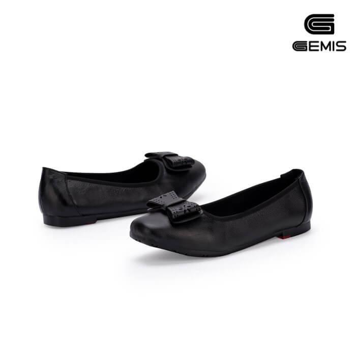 Giày bệt da bò nơ laze - GM00163 Xưởng Giày 01