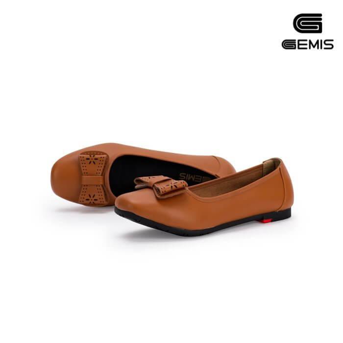 Giày bệt da bò nơ laze - GM00163 Xưởng Giày 05