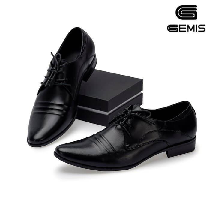 Giày nam da bò buộc dây Gemis - GM00204 Xưởng Giày 05