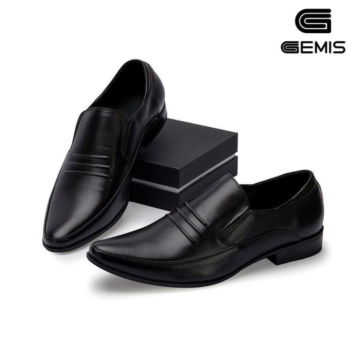 Giày lười nam sọc đế ngang 2 cm Gemis – GN00205 Xưởng Giày 01