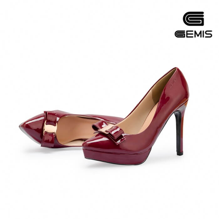Giày cao gót da bóng 11 cm Gemis - GM00209 Xưởng Giày 05