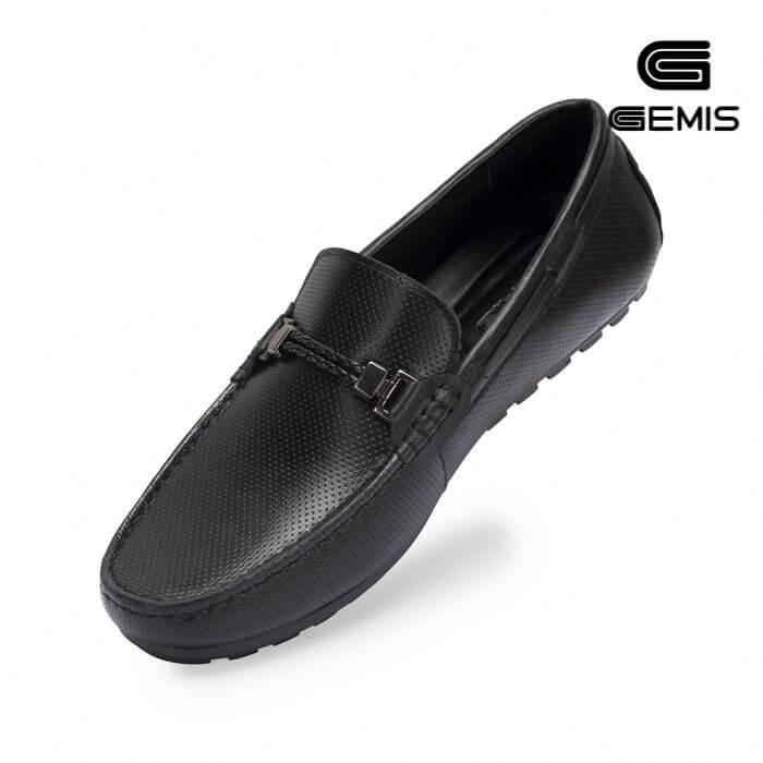 Giày mọi nam da bò đai khóa Gemis - GN00214 Xưởng Giày 02