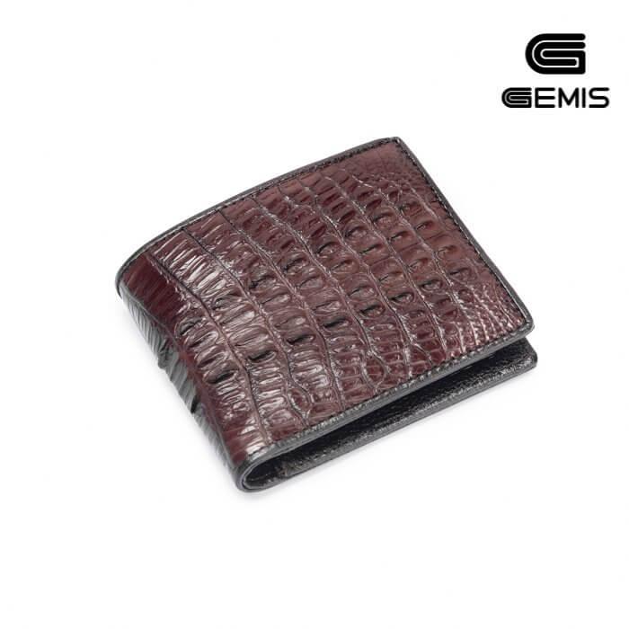 Ví cá sấu vằn Gemis - 290GM406 Xưởng Giày 06