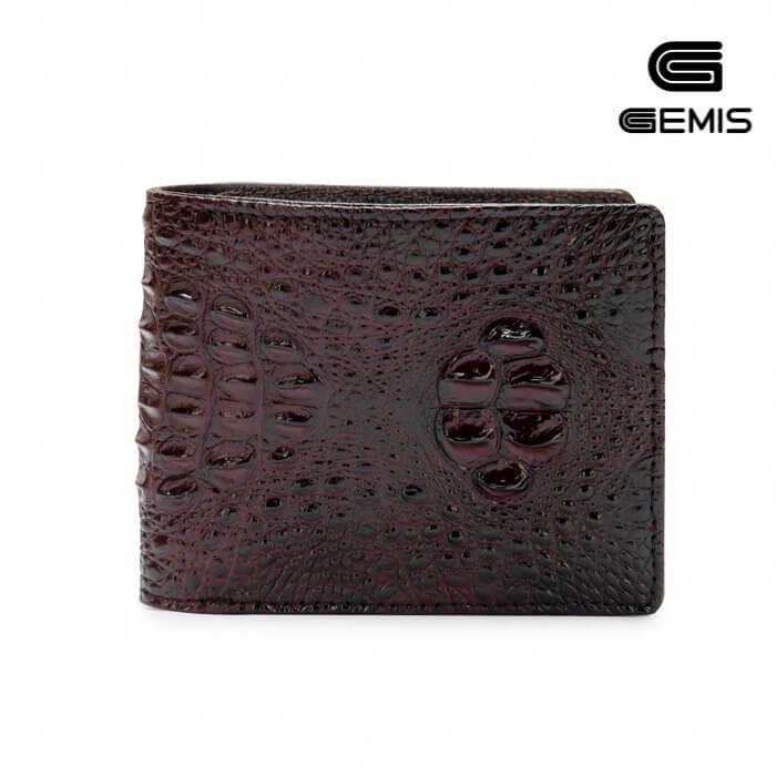 Ví da cá sấu Gemis - 350GM489 Xưởng Giày 03
