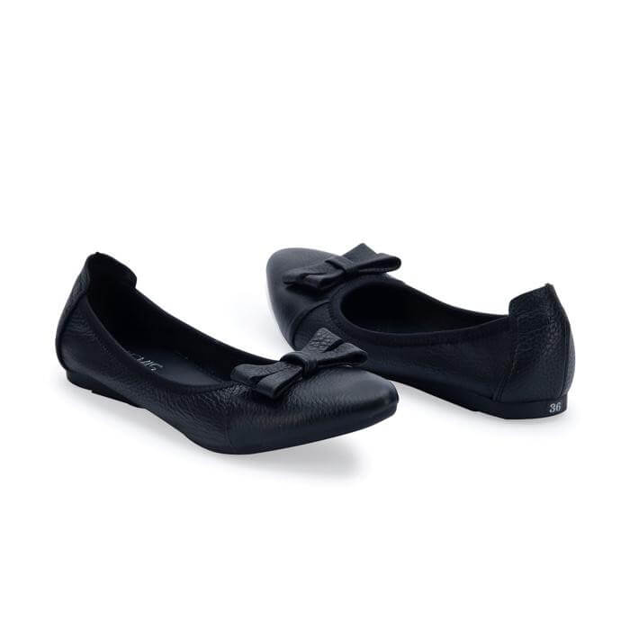 Giày Bệt Nơ Da Bò Gemis – GM00151 Xưởng Giày 02