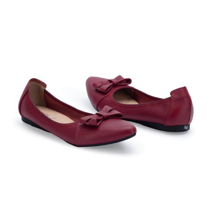Giày Bệt Nơ Da Bò Gemis – GM00151 Xưởng Giày 05