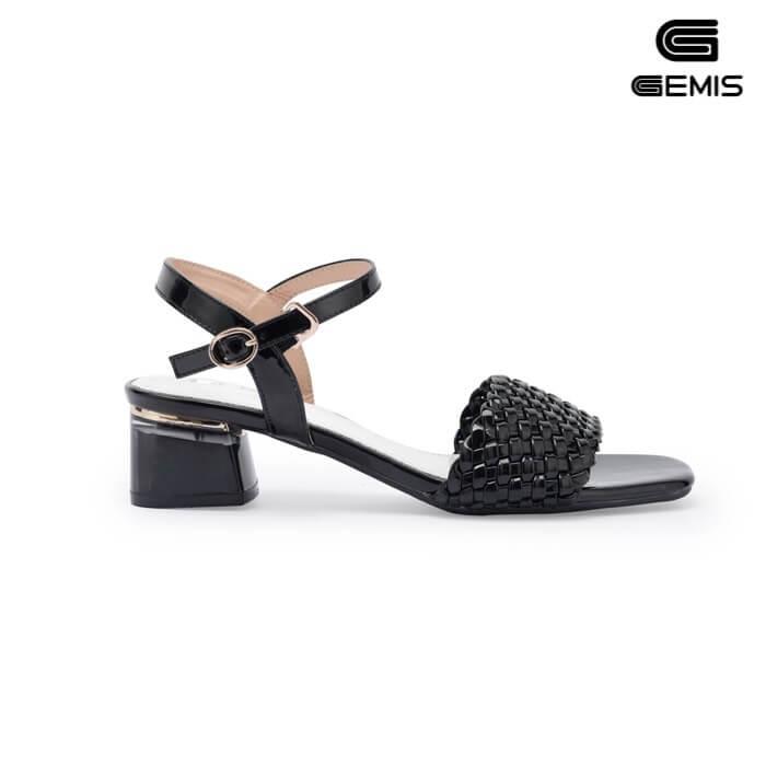 Sandal mũi vuông 5cm GEMIS - GM00259 Xưởng Giày 03