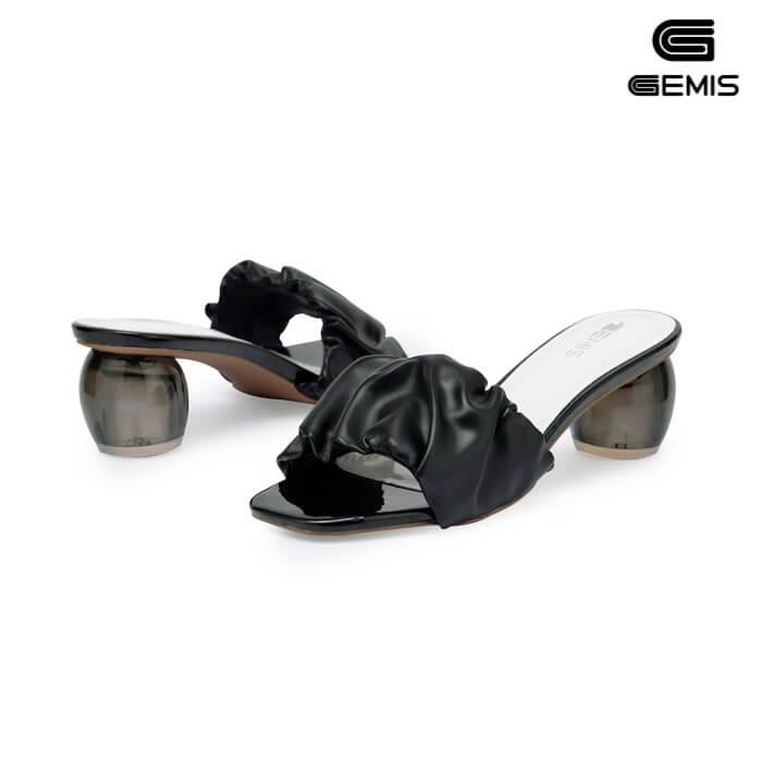 Guốc cao gót quai nhún 5cm GEMIS - GM00261 Xưởng Giày 02