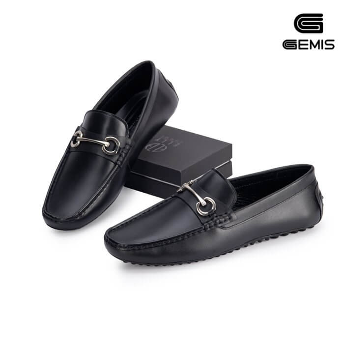 Giày mọi nam da bò GEMIS - GN00181 Xưởng Giày 08