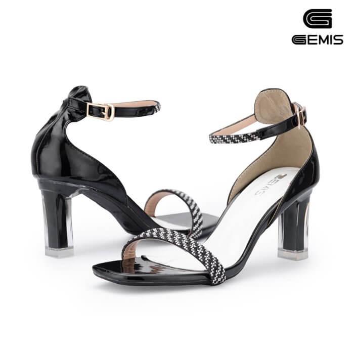 Sandal đính đá 7cm Gemis - GM00264 Xưởng Giày 03